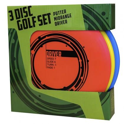 3 Disc Golf Basic Starter set