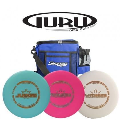 1 Nybegynnersett Prime Dynamic Discs 3disc+bag