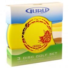 Guru 3 Disc Golf Set XXL